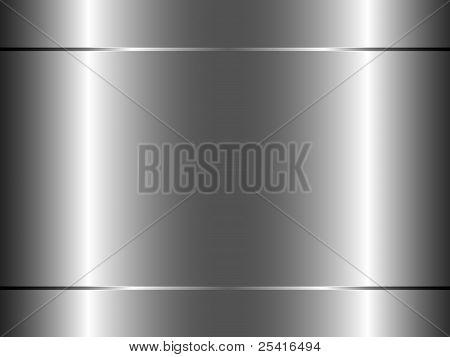 Abstract Metallic Gray Background