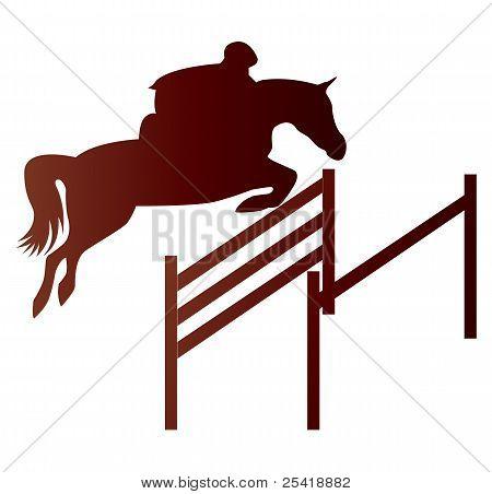 Jinete con caballo