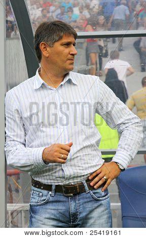 FC Obolon Manager Serhiy Kovalets