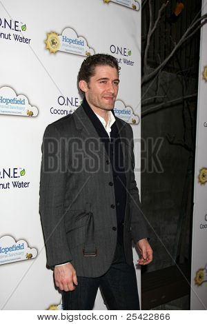 """LOS ANGELES - NOV 19:  Matthew Morrison arrives at """"An Evening with Leona Lewis and Friends"""" at Private Home on November 19, 2011 in West Hollywood, CA"""