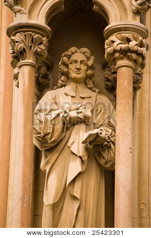 Richard Bentley Statue, Cambridge