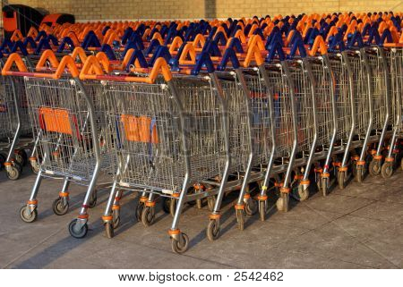 Supermarket Shopping Trolleys/ Baskets/ Carts