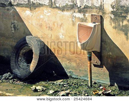 An Old Urinal
