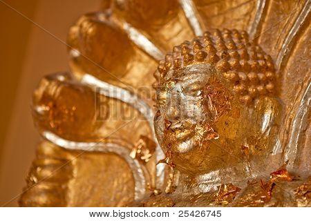 Closeup Buddha Statue