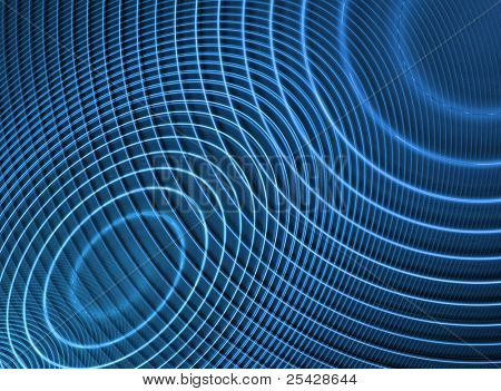 Abstract Futuristic Spiral Texture