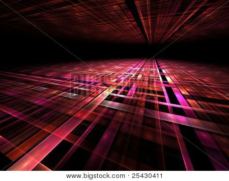 3d perspective grid background
