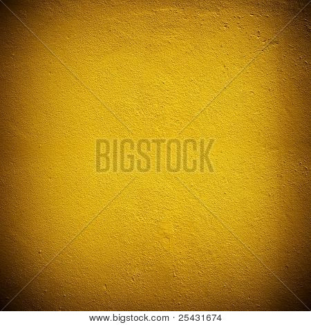 golden concrete wall