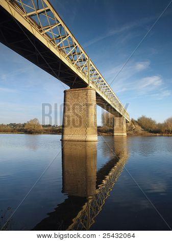 Pont De Pruniers, Bouchemaine, France.