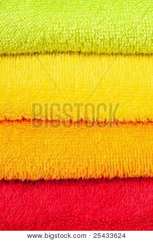 color convolute towels