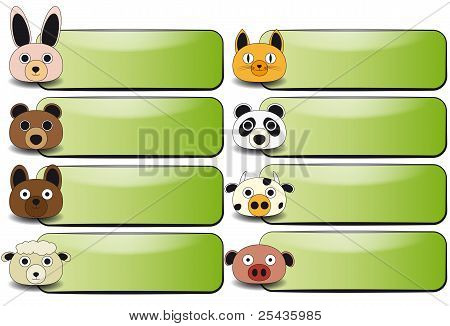 Animal Face-Banner