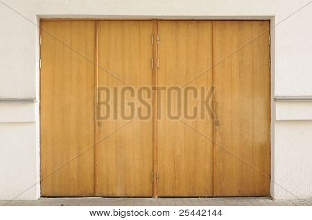 Old Wooden Entrance Doors