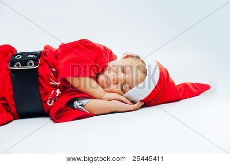 Little Santa sleep