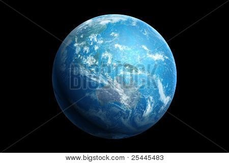 earth, australia and oceania