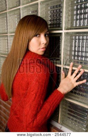 Press Against The Window - Fashion Series