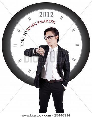 Motivational Photo: Work Smarter