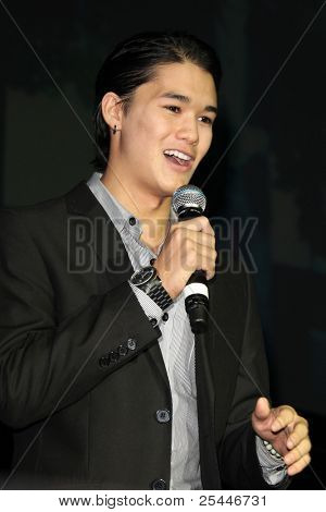 LOS ANGELES - NOV 19:  Booboo Stewart at the Citadel Outlets 10th Annual Tree Lighting at Citadel Outlets on November 19, 2011 in Los Angeles, CA