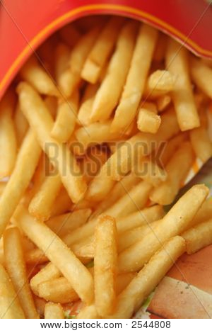 Fritas de Fast-Food