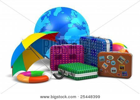 Travel, tourism and vacation concept