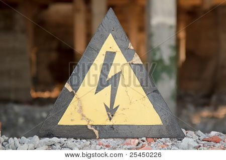 Danger Electrical Hazard High