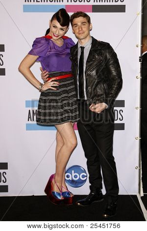 LOS ANGELES - NOV 20:  Amy Heidemann, Nick Noonan of Karmin. in the Press Room at the 2011 American Music Awards at Nokia Theater on November 20, 2011 in Los Angeles, CA