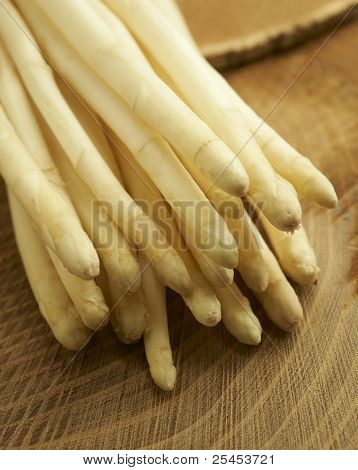 White Asparagus Close-up