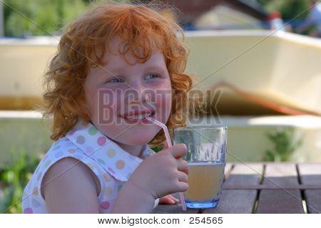 Having A Lemonade