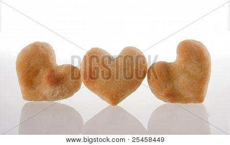 Cookies Heart Isolated