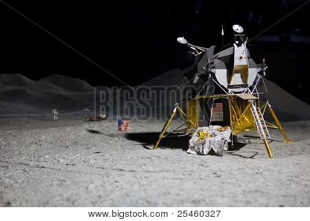 Landing On The Moon