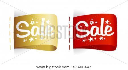 Clothing labels Sale.