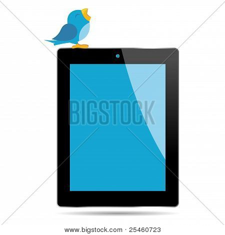 Bird And Tablet