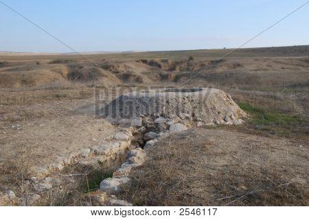 A Well In Desert