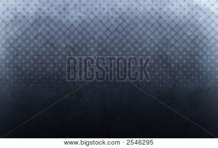 Halftone Background Dark Blue