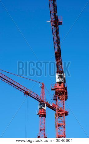 Red Cranes