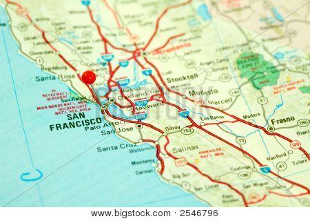 Map Of San Francisco Bay Area