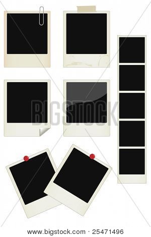 Vector-Foto-Rahmen-set