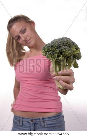 Haben Sie einige Brokkoli