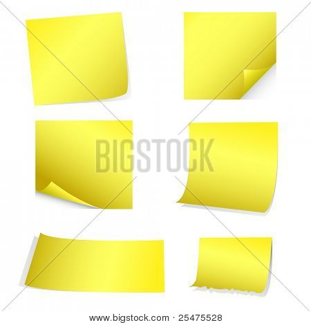 Yellow Notes , Stickers