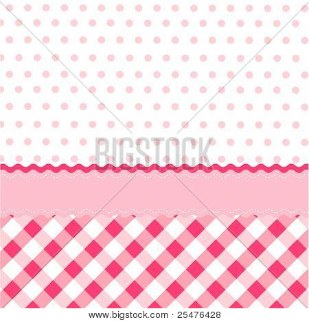 seamless baby girl pattern, wallpaper