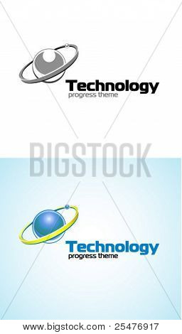 Technology logo vector