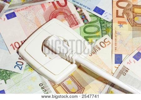 Power Socket And Banknotes