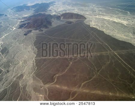Aerial View Of Nazca
