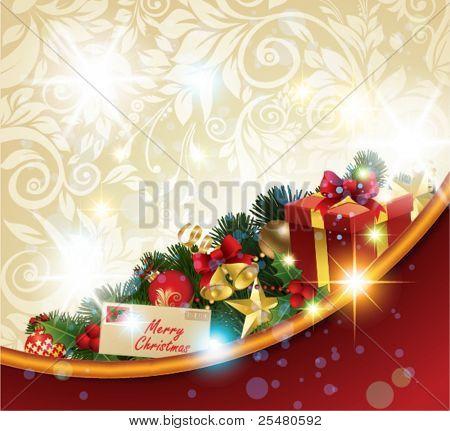 Weihnachten Hintergrund.