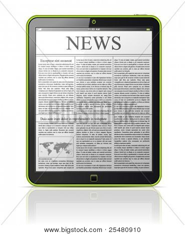 News on generic Tablet PC.