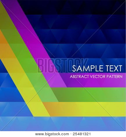 Geometric Colorful Pattern. Vector Illustration.