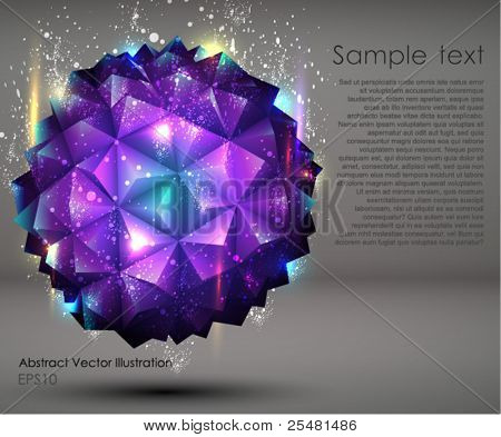 Abstract geometric Ball Background.