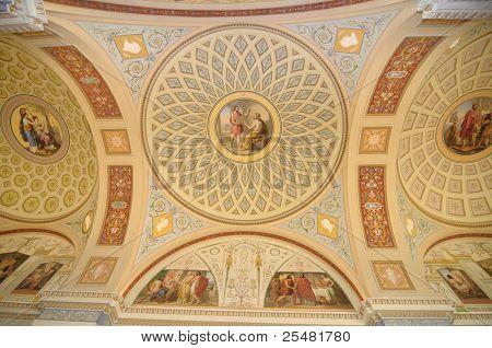 State Hermitage museum, fresco
