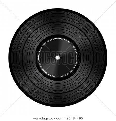 Vinyl audio disc