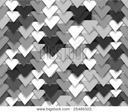 Nahtlose Hintergrund des grau abstrakten Dreieck Wellen