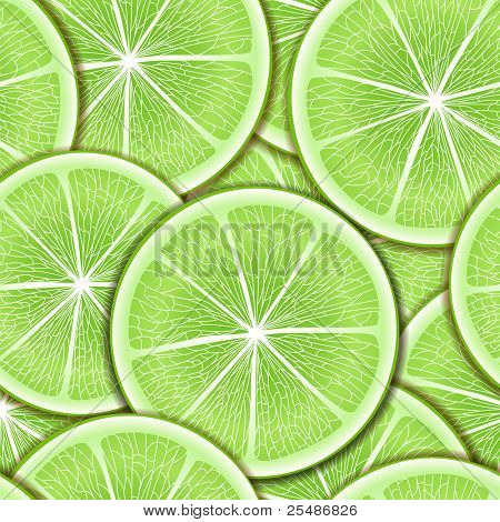 Citrus seamless background.