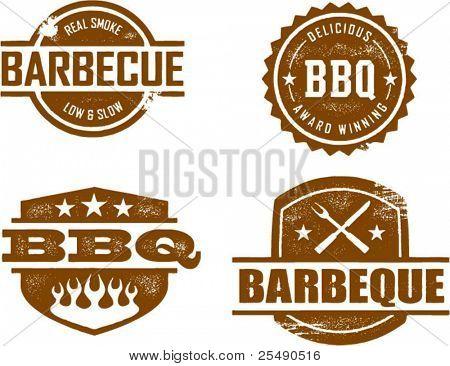 BBQ-Briefmarken